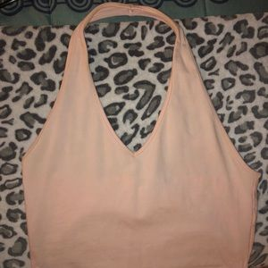 Forever 21 • Baby pink halter top